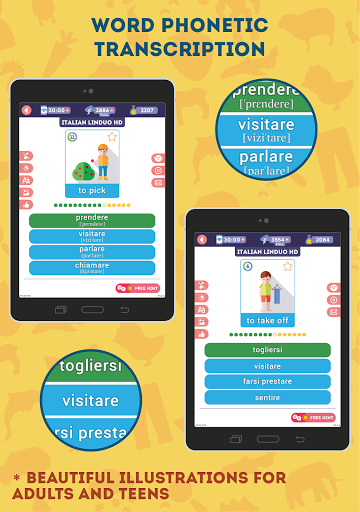 Italian for Beginners: LinDuo HD 5.6.0 screenshots 8