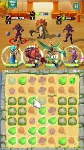 Match & Slash: Fantasy RPG Puzzle MOD APK 1.0.1 (ADS Free) 6