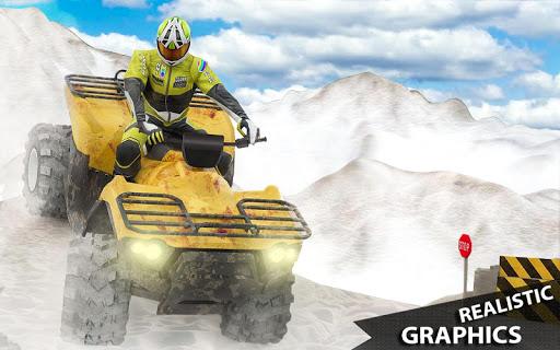 ATV Quad Derby Racing: Snow Trials Bike Xtreme  screenshots 8