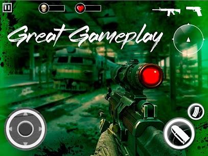 Z For Zombie Mod Apk: Freedom Hunters (God Mode/Dumb Enemy) 7