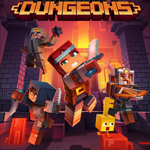 Map DUNGEONS MMO for Minecraft PE