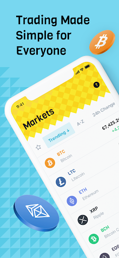 Download BLOX crypto trading - buy bitcoin without wallet mod apk