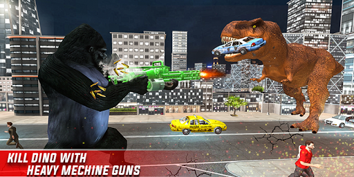 Monster Dino Vs King Kong-City Rampage Simulator 1.0.3 screenshots 14