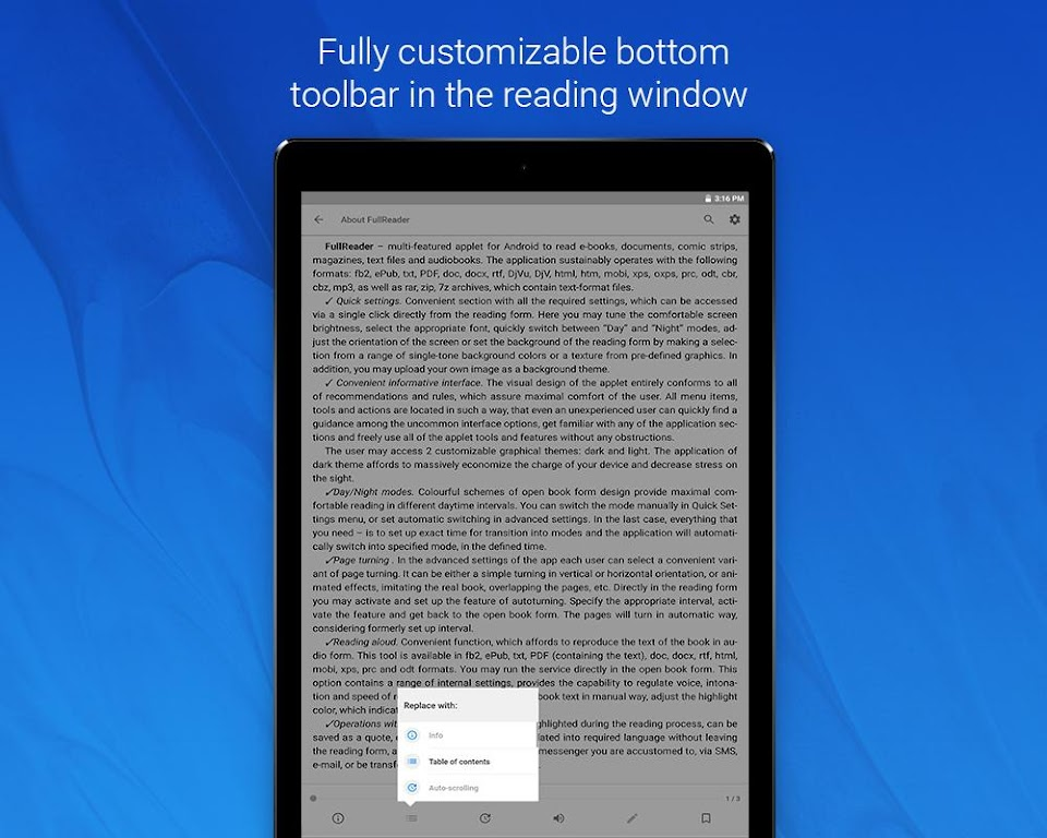 FullReader - all e-book formats reader  poster 10