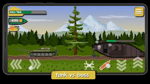 Tank Battle War 2d: game free 1.0.4.3 screenshots 3