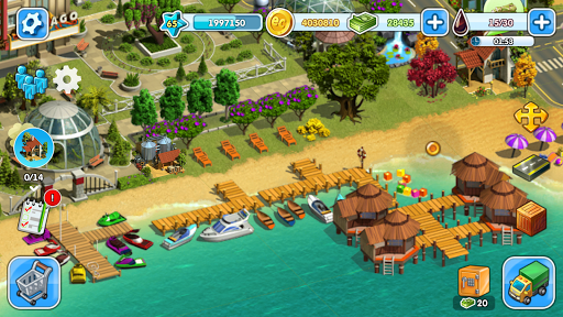 Eco City: new free building and town village games 1.0.435 screenshots 1