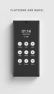 White - A Flatcon Icon Pack