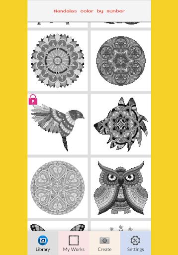 Download Mandalas Color By Number Pixel Art On Pc Mac With Appkiwi Apk Downloader