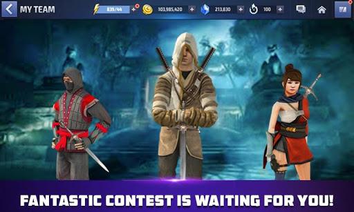 Superhero Ninja Kung Fu Fight : Mini Ninjas Games apkmartins screenshots 1