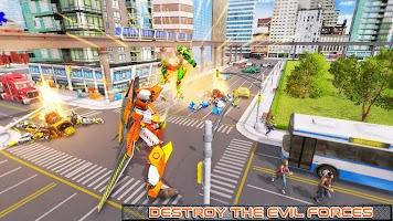 Ostrich Robot Car Transform Wars – Car Robot Games