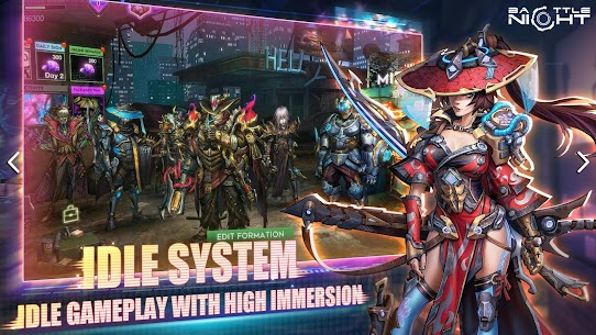Battle Night: Cyberpunk-Idle RPG 3