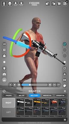 アクション解剖学 - アーティストのための解剖学ポーズアプリのおすすめ画像5
