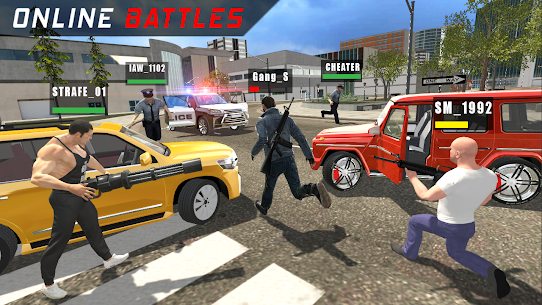 Police vs Gangsters 4×4 Offroad Mod Apk 1.1.1 (Endless Money) 1