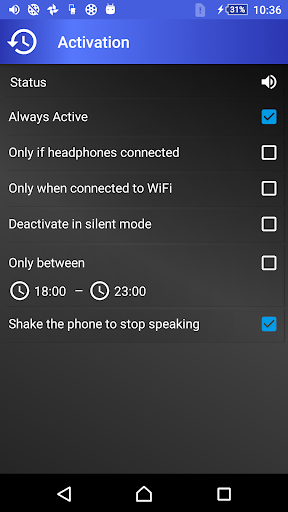 Speak Who is Calling - read notifications aloud apktram screenshots 5
