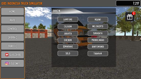 Image For IDBS Indonesia Truck Simulator Versi 4.1 1