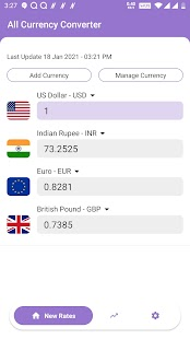 All Currency Converter Pro - Money Exchange Rates Screenshot