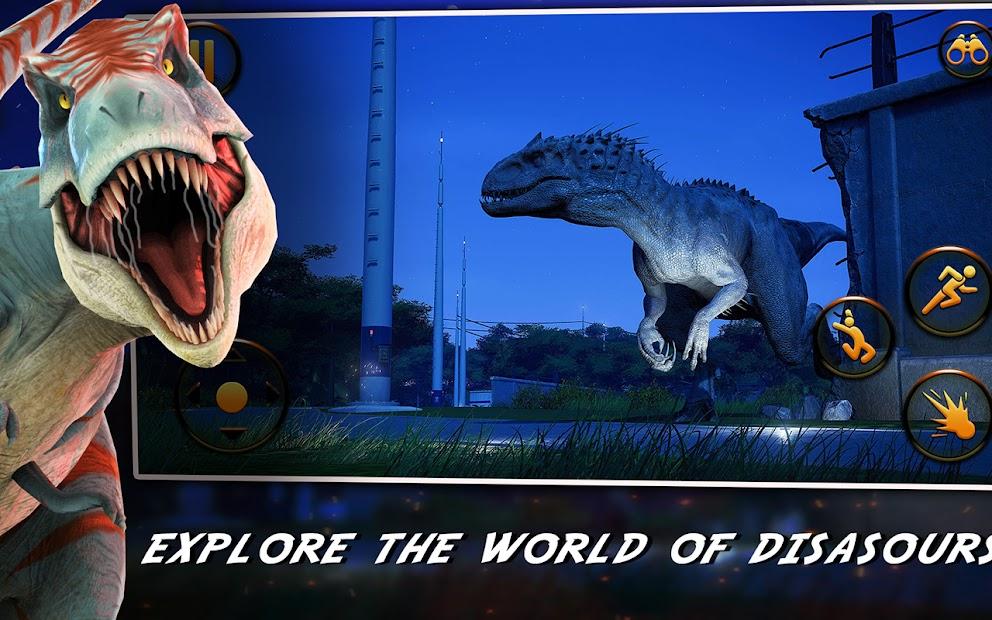 Dino Hunter : Jurassic Dinosaurs World Survivor