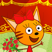 Kid-E-Cats Circus Games! Three Cats for Children