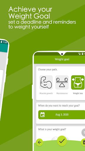 Weight Diary - Weight Loss Tracker, BMI, Body Fat 3.6.0.1 Screenshots 5