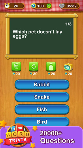 Word Trivia - Free Trivia Quiz & Puzzle Word Games  screenshots 2