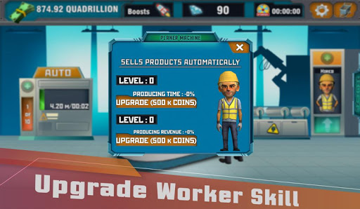 Factory Tycoon : Idle Clicker Game  screenshots 2