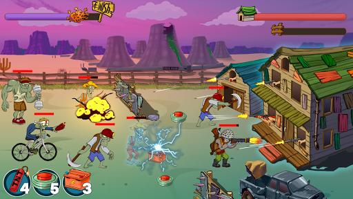 Code Triche Zombie Ranch. Zombie jeux de tir (Astuce) APK MOD screenshots 3