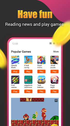 Roz Dhan: Earn Wallet cash, Read News & Play Games android2mod screenshots 7