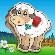 Kids Peg Puzzle - Free Toddler Shape Games