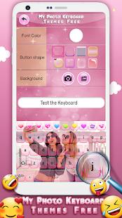 My Photo Keyboard Themes Free 4.6 Screenshots 2