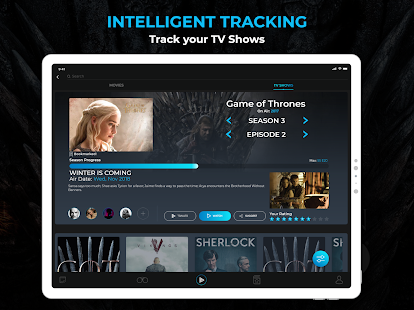 Flixi - Movie & TV tracking and recommendations Screenshot