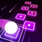 Hop Tiles 3D: Hit music game