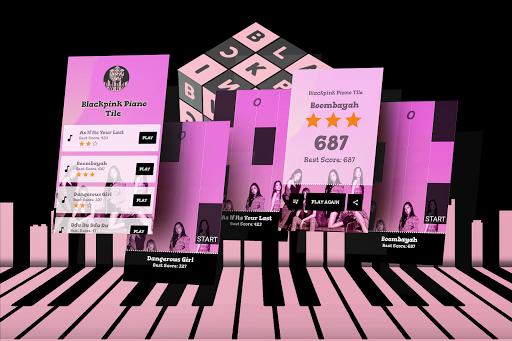 Blackpink Piano Tiles Game  Screenshots 1