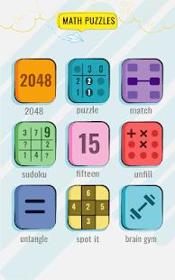 Math Puzzles game - Brain Training Math Games Free