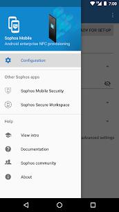 Sophos NFC Provisioning 1