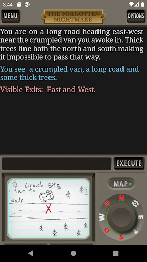 Télécharger The Forgotten Nightmare Text Adventure Game apk mod screenshots 3