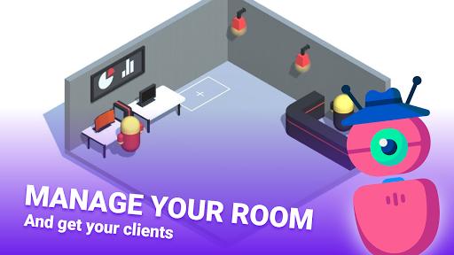 Game Studio Creator - Build your own internet cafe apkslow screenshots 8