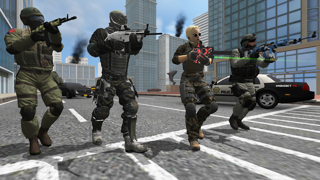 Earth Protect Squad: Third Person Shooting Game  poster 2