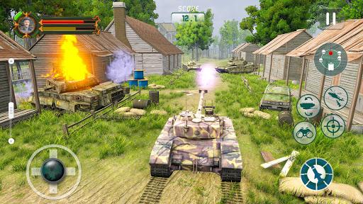 Battle of Tank games: Offline War Machines Games screenshots 18