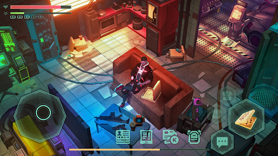 Cyberika: RPG cyberpunk action screenshots apk mod 2