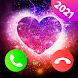 発信者のテーマ画面 - カラー電話 - Androidアプリ