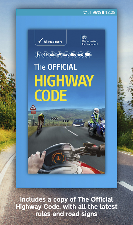 Official DVSA Theory Test Kit poster 6