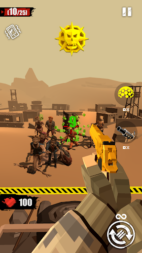 merge gun: shoot zombie screenshot 2