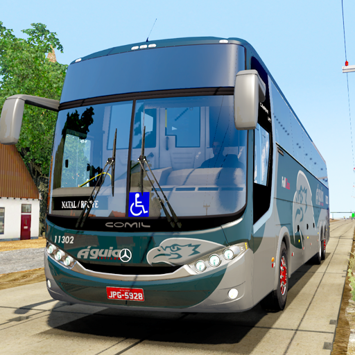 Baixar City Coach Bus Driving Simulator 3D: City Bus Game para Android
