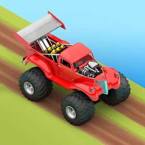 MMX Hill Dash 2 Offroad Truck Car Bike Racing 11.04.12202 by Hutch Games logo
