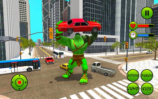 Incredible Monster Hero City Battle New Games 2021  screenshots 1