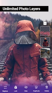 PicsKit - Kostenloser Photo Editor & Collage Maker Screenshot