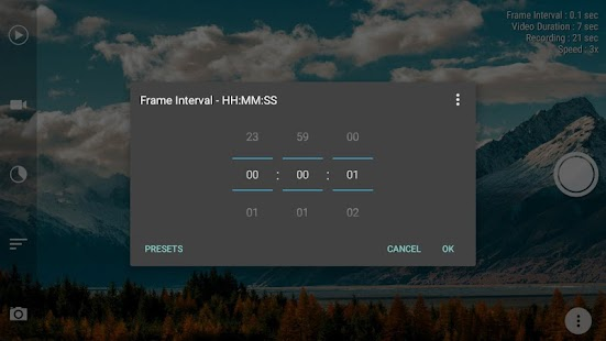 Framelapse: Time Lapse Camera & Fast Motion Videos Screenshot