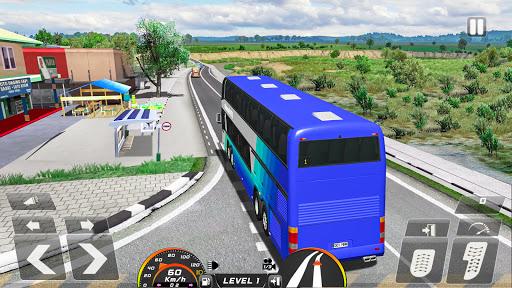 Real Bus Simulator Driving Games New Free 2021 2.1 screenshots 6