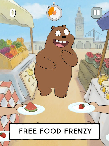 We Bare Bears - Free Fur All: Mini Game Arcade  Screenshots 21