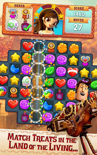 Sugar Smash: Book of Life - Free Match 3 Games. 3.96.203 Screenshots 13